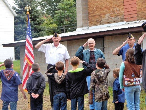 shelby legion, scouts, flag