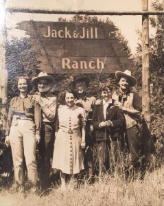 The Storm Family, original owners of the Double JJ Ranch.