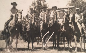 Double JJ wranglers in 1948.