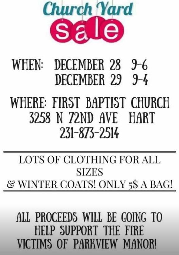 first baptist church sale