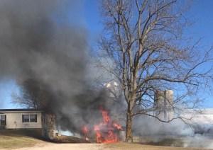 garage fire - 2