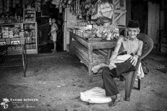 Old man in Sikakap