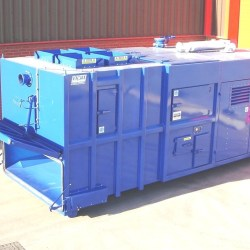 Out of gauge vacuum bin for Oman