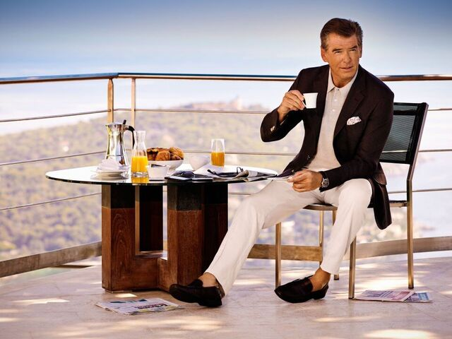 Brosnan at brunch