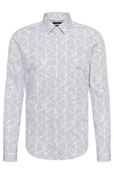 Hugo Boss Patterned Slim Fit