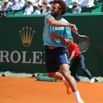 Rolex testimonee Jo-Wilfried Tsonga during the 2017 Monte Carlo Rolex Masters