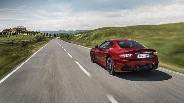 2018 Maserati GranTurismo rear