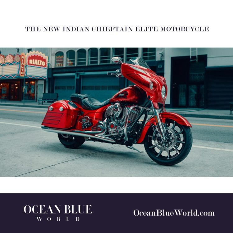 The New Indian Chieftain Elite Motorcycle