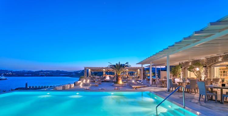 Santa Marina, Mykonos Greece