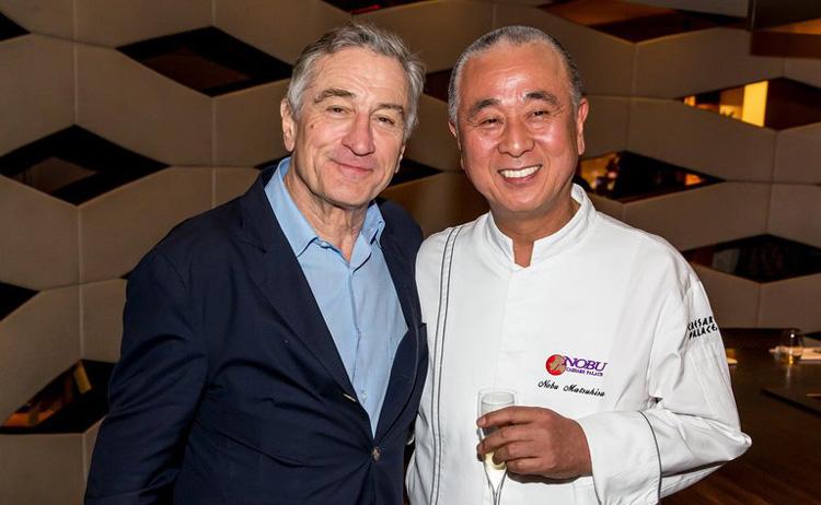 Robert De Niro and Nobu Matsuhisa. Photo Courtesy: Erik Kabik