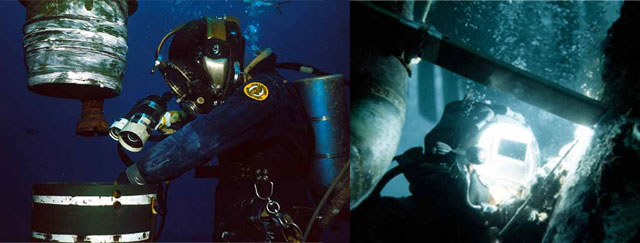 Diving Inspection and Wet Welding