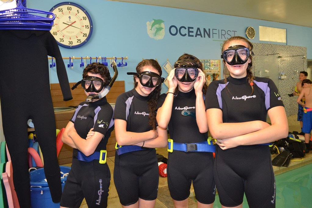 Dive Training at Ocean First