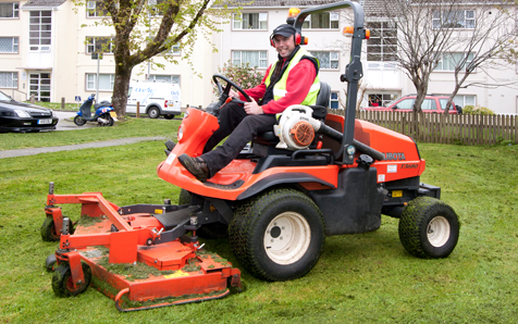 Banner Grass cutting GC