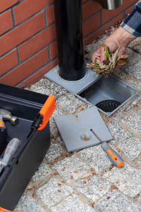 Unblocking gutter drain