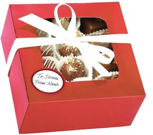 Get Connected Xmas choc-box