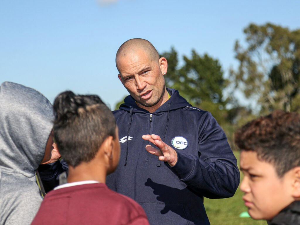 Phill Parker . Park Estate Football Festival, Park Estate School, Papakura, Auckland, Tuesday 4th August 2020. Photo: Shane Wenzlick / www.phototek.nz