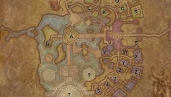 World of Warcraft Maps: Dalaran on