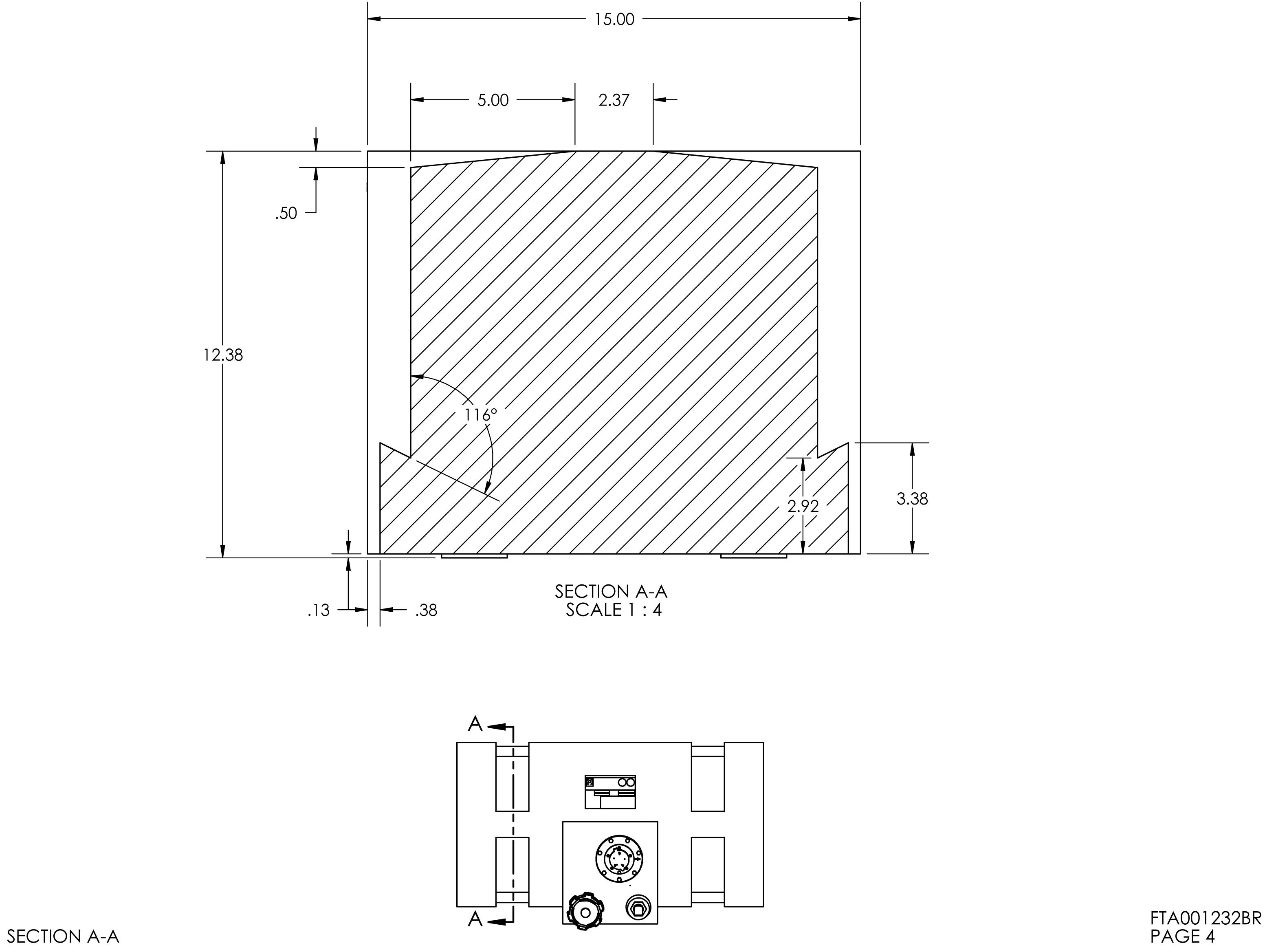 18 Gallon Rectangular Shaped Fuel Tank 28 X 15 X 12 38