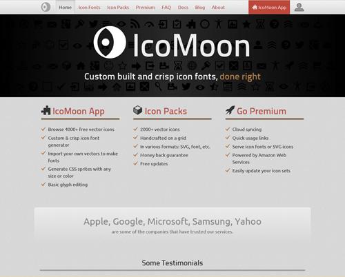 IcoMoonの画像