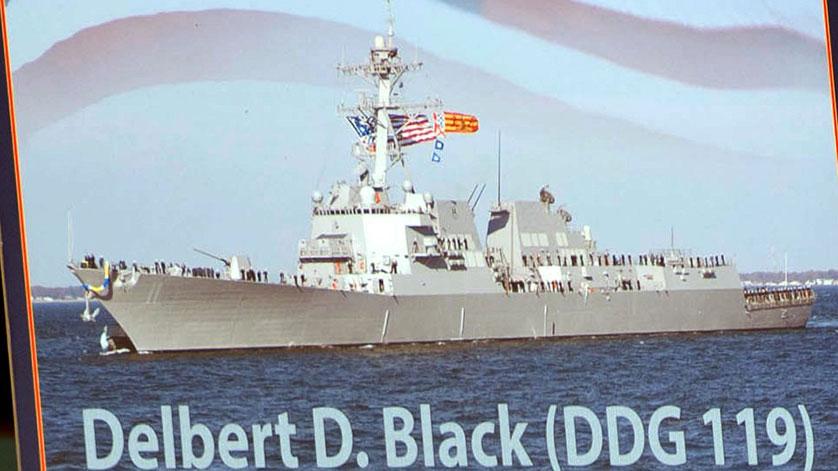 US Navy Launches Next Destroyer The Future USS Delbert D