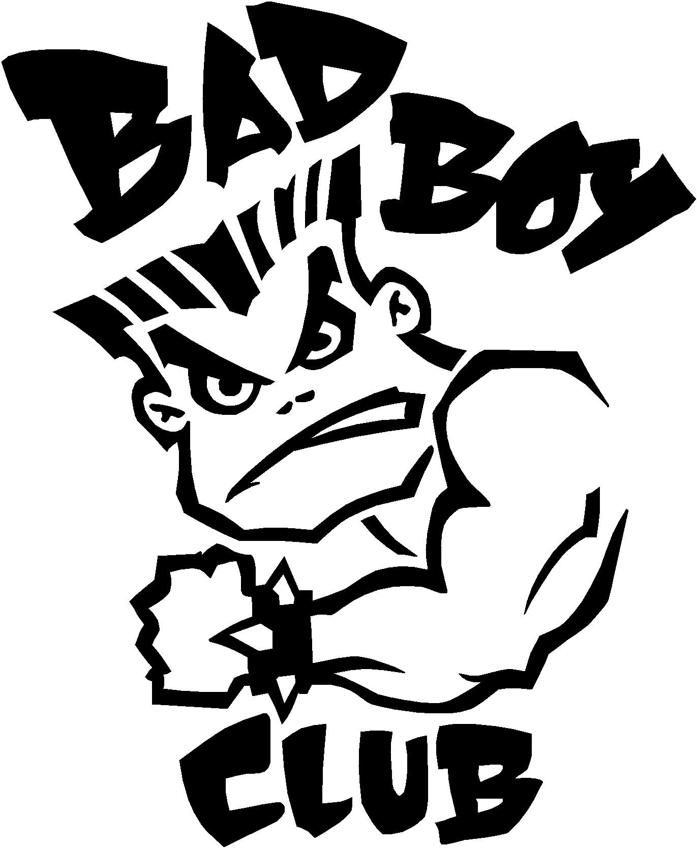 Bad Boy Club Logo Sticker