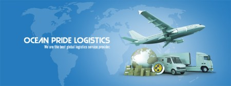 Ocean Pride Logistics India Pvt Ltd   International Freight     Ocean Pride Logistics is an established name in the domain of shipping and  cargo business  Equipped with best machines  outstanding employees and  years of