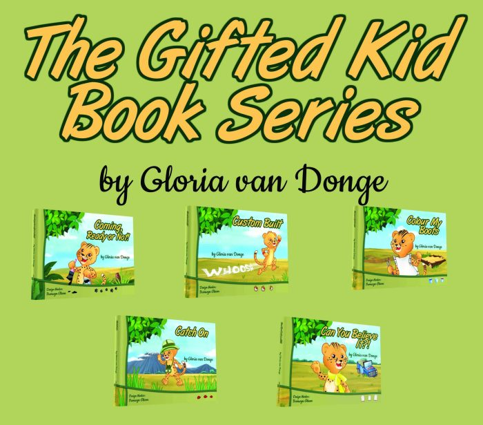 The Gifted Kids Book Series - Ocean Reeve Publishing