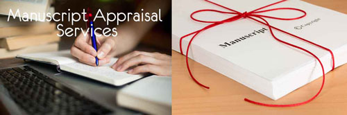 Contact Us to begin your journey with a Manuscript Appraisal