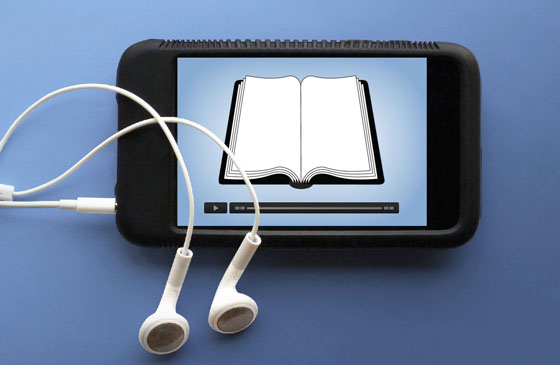55% of listeners of audiobooks are below 50