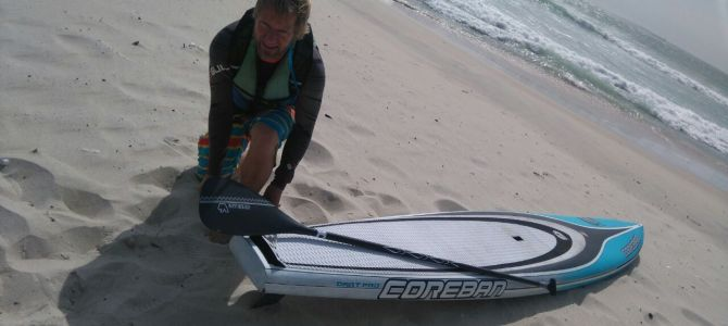 Greg Bertish Demos the new 2016 Van Hunks Full Carbon Paddle.