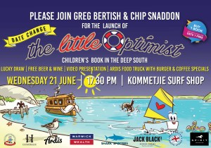 Deep South Launch of the Little Optimist Book.