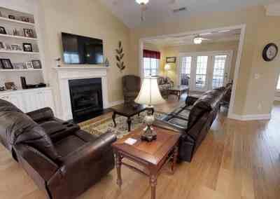 family room -ocean ridge plantation real estate