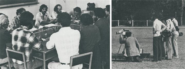 Fotos aparecidas en el nº300 de Cahiers du Cinéma