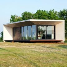 manufactured house