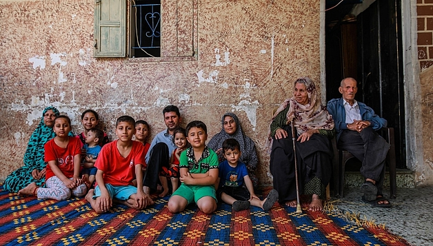 As a sole breadwinner, Mahmoud carried a heavy burden providing for his family. Photo by Mohamed Reefi for CRS.