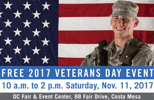 2017 Veterans Day Event