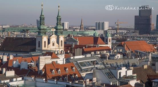 Панорама от кулата на катедралата Св. Стефан