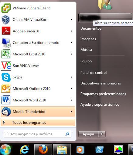 Migrar libreta de direcciones desde Thunderbird a Outlook 2010 en Windows 7 (3/6)