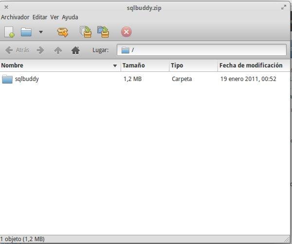 SQL Buddy, una gran herramienta MySQL (3/6)