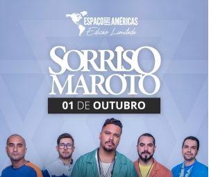 Sorriso Maroto está de volta ao palco do Espaço das Américas