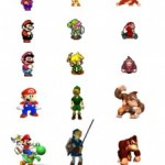La evolución de los personajes de Nintendo