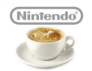 Una tazita de café con aroma a Nintendo