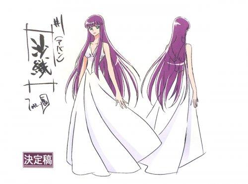 Saori Kido, reencarnación de Athena
