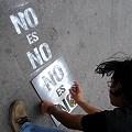 Pintando NO es NO