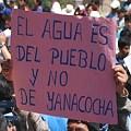 Peru Conga no va 21 agua del pueblo120