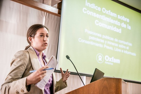 Oxfam Consentimiento