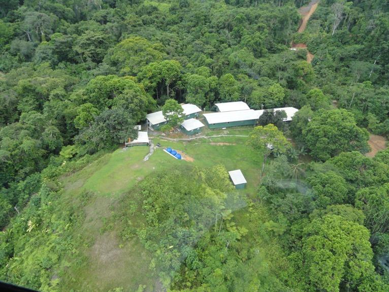 Minera Panama campamento