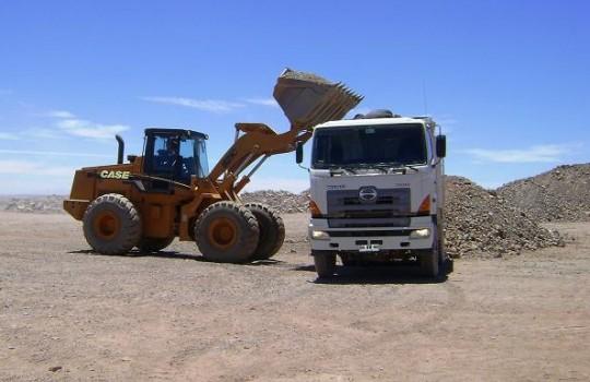 Camion transporte cobre 540x350