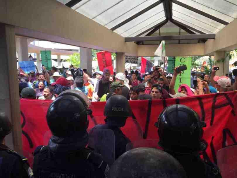manifestacion contra la mineria honduras