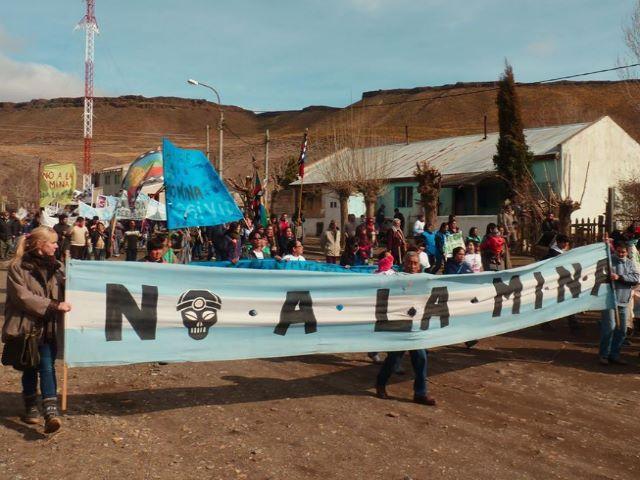 no a la mina argentinaa